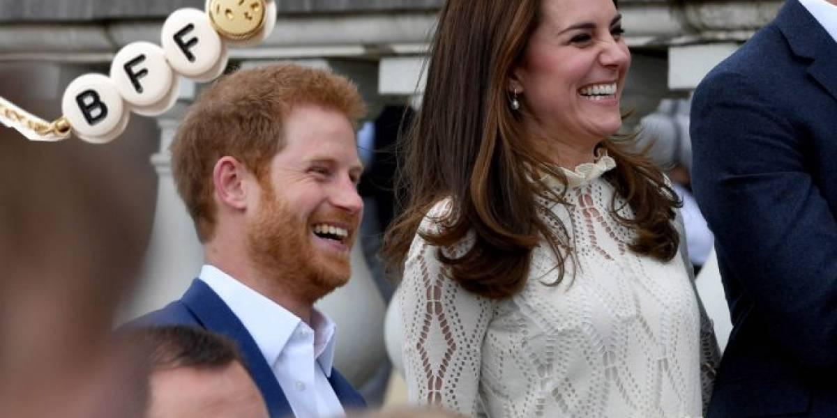 Así es la verdadera relación entre Kate Middleton y su cuñado Harry