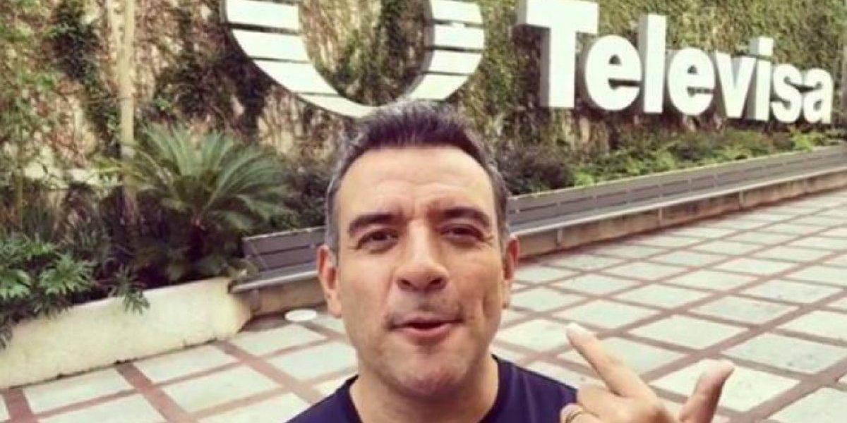 Tras 25 años en Televisa, Héctor Sandarti presenta su nuevo proyecto y usuarios reaccionan