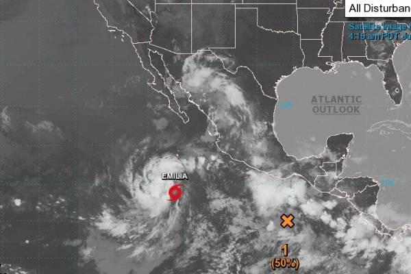 Tormenta tropical Emilia