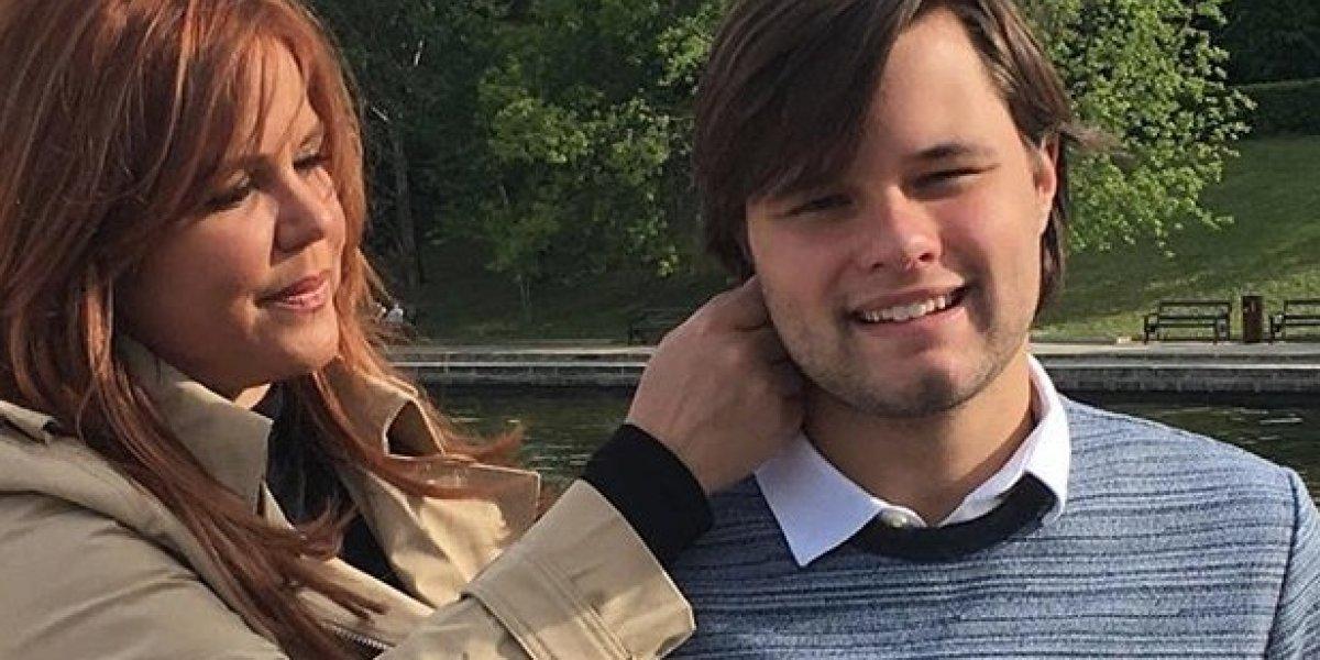 Él es el hijo que adoptó María Celeste Arrarás en Rusia
