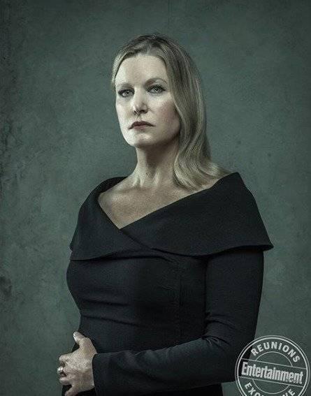 Anna Gunn como Skylar White, mulher de Walter. Dan Winters/Reprodução/Entertainment Weekly