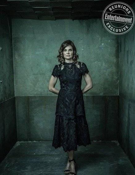 Betsy Brandt como Marie Schrader, irmã de Skylar e mulher de Hank. Dan Winters/Reprodução/Entertainment Weekly