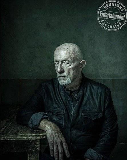 Jonathan Banks como Mike Ehrmantraut, assassino de aluguel e faxineiro de Gus e de Saul. Dan Winters/Reprodução/Entertainment Weekly