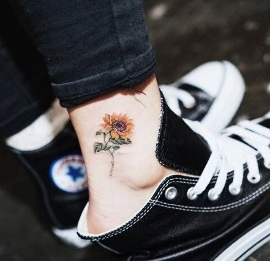 tatuajes de girasol