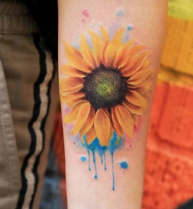 El Significado De Los Tatuajes De Girasol Y Sus Diseños Que Amarás