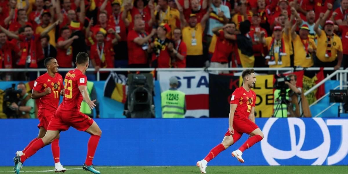 Bélgica vence a Inglaterra e se garante como 1ª do grupo; ambas seguem para as oitavas