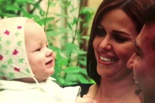 María Celeste adoptó a Adrián cuando tenía 13 meses de nacido