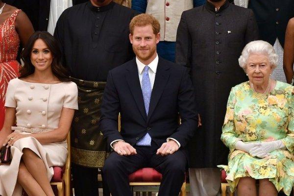 Meghan Markle, Harry e rainha