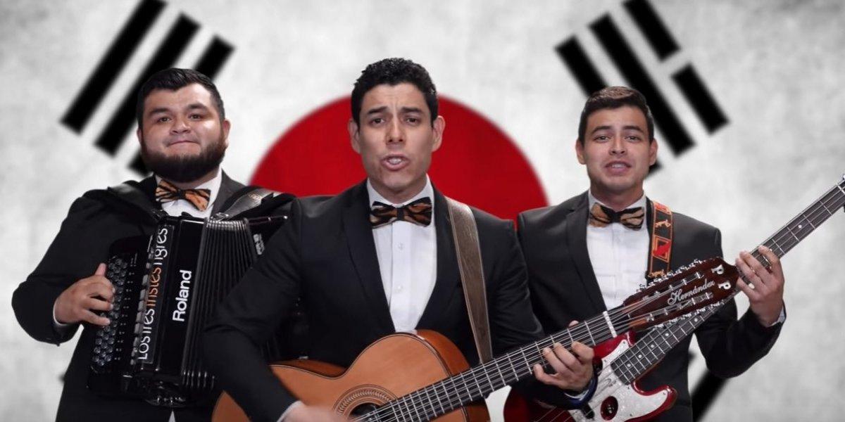 Los 3 Tristes Tigres componen canción a Corea tras pase de México