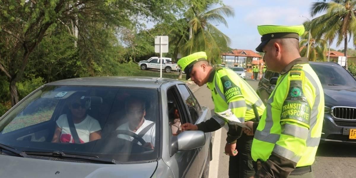 Promueven seguridad vial en carreteras del Atlántico en vacaciones