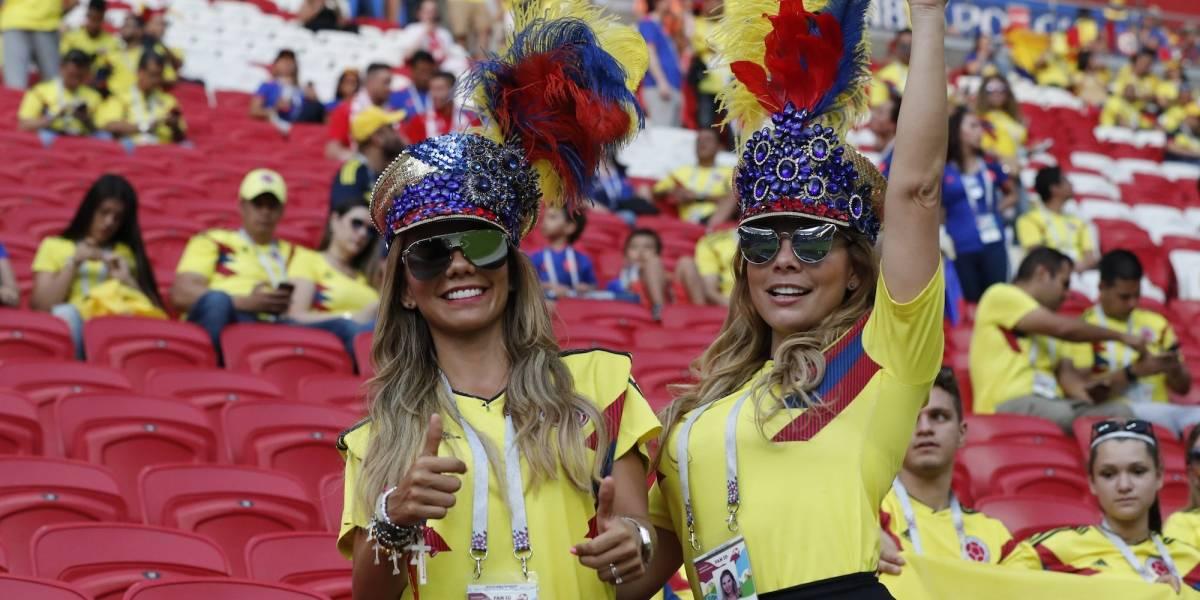 FOTOS: Las bellas colombianas que deslumbran en Rusia