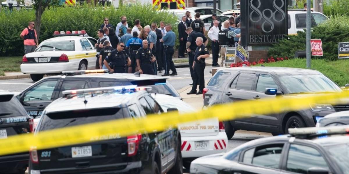 Al menos cinco muertos en tiroteo en periódico de Maryland