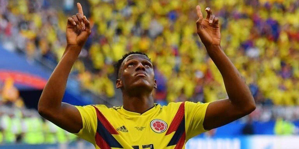 """La """"Mina de oro"""" de Colombia los pone en octavos de final"""