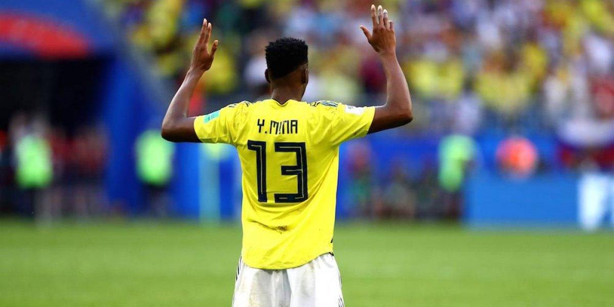 Yerry Mina da triunfo y clasificación a segunda ronda del Mundial a Colombia