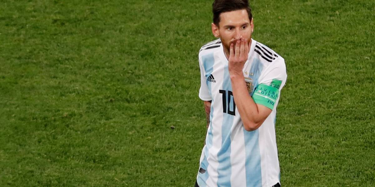 Messi aparece com novo visual antes de partida decisiva contra a França
