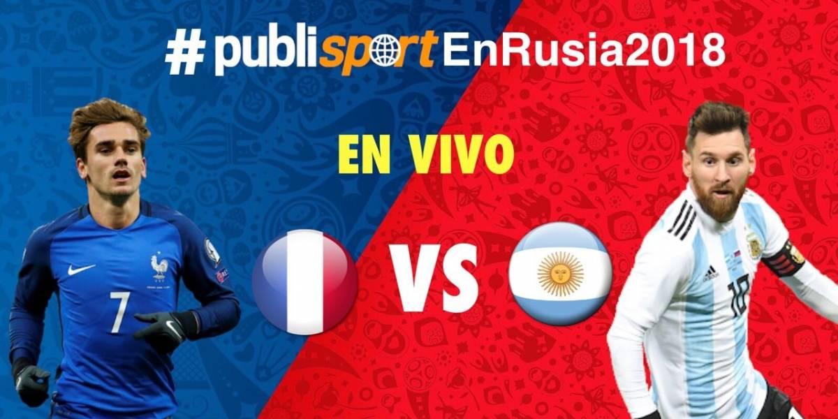 Argentina queda eliminado del Mundial de Rusia