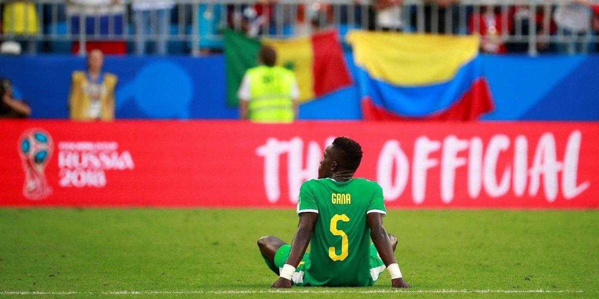 Jugador senegalés es víctima de bullying por insólita jugada contra Colombia