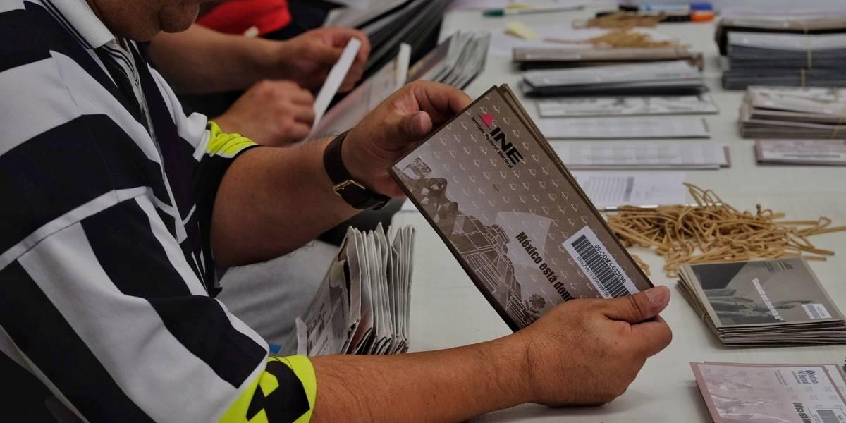 INE recibe 97 mil votos desde el extranjero; más del doble que en 2012