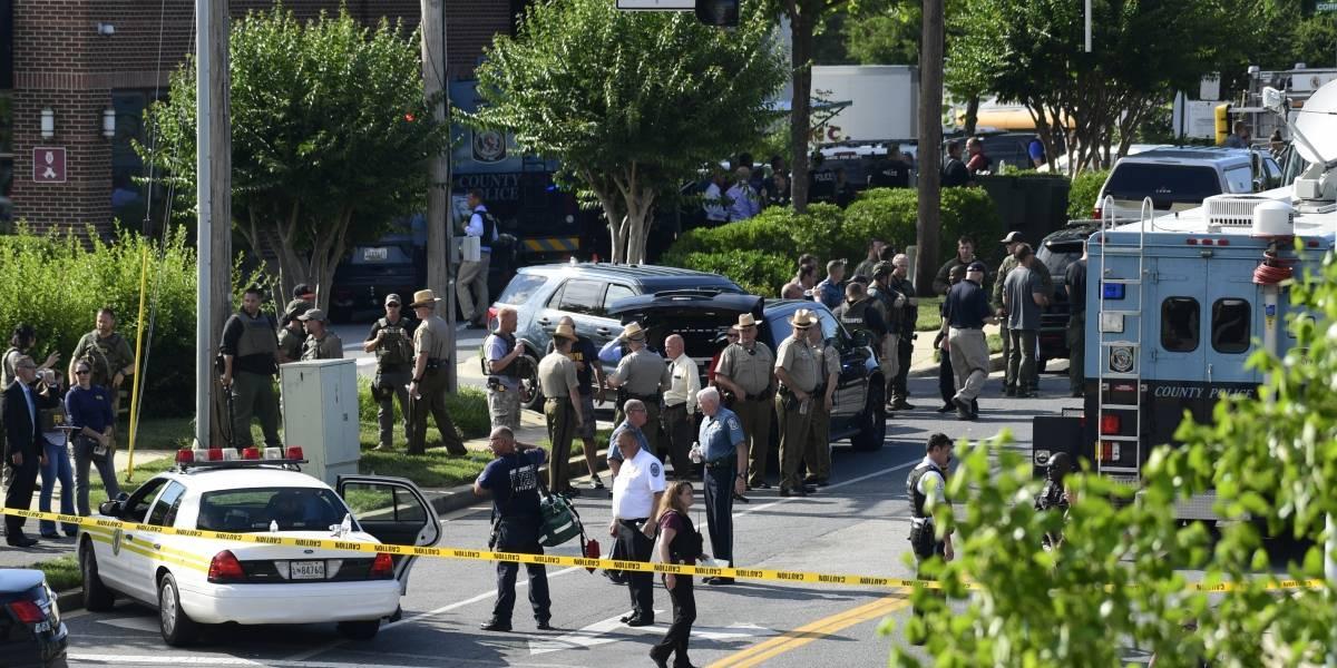 """""""No hay nada más aterrador que escuchar cómo le disparan a gente"""": el desgarrador relato en primera persona de un periodista en el tiroteo de Maryland"""