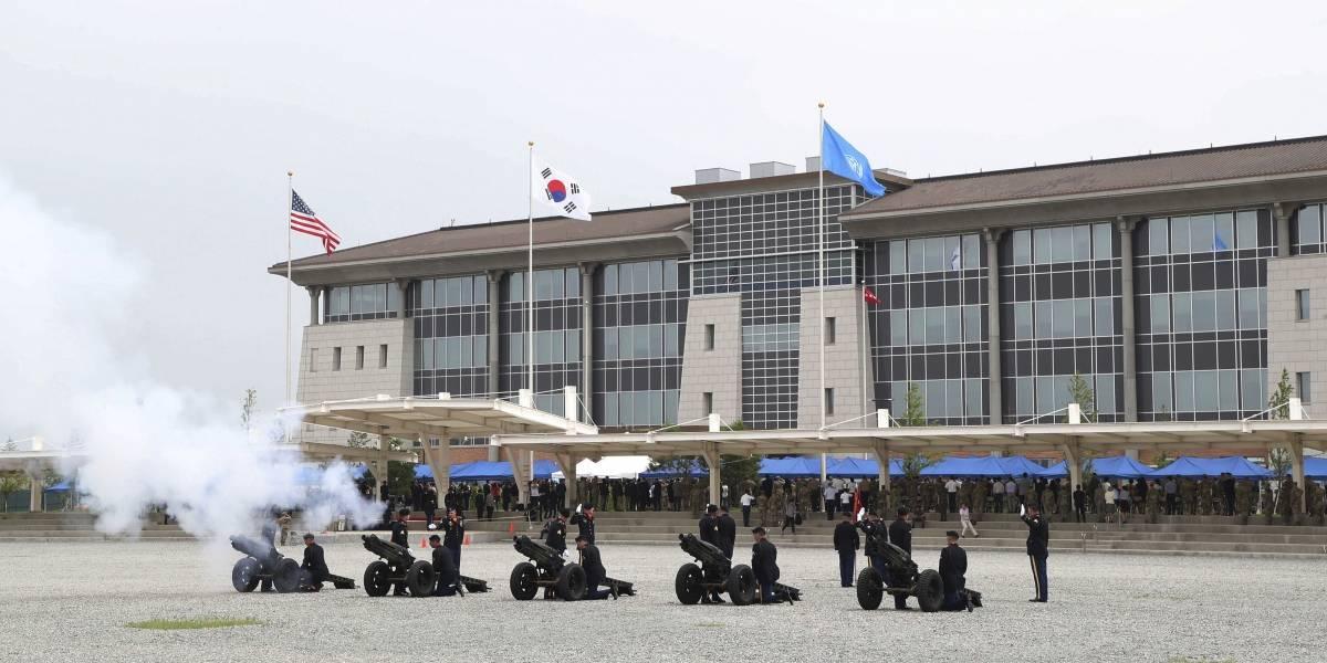 Estados Unidos termina con 7 décadas de presencia militar en Seúl