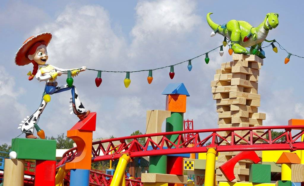 Hoy se inauguró Toy Story Land en Disney's Hollywood Studios