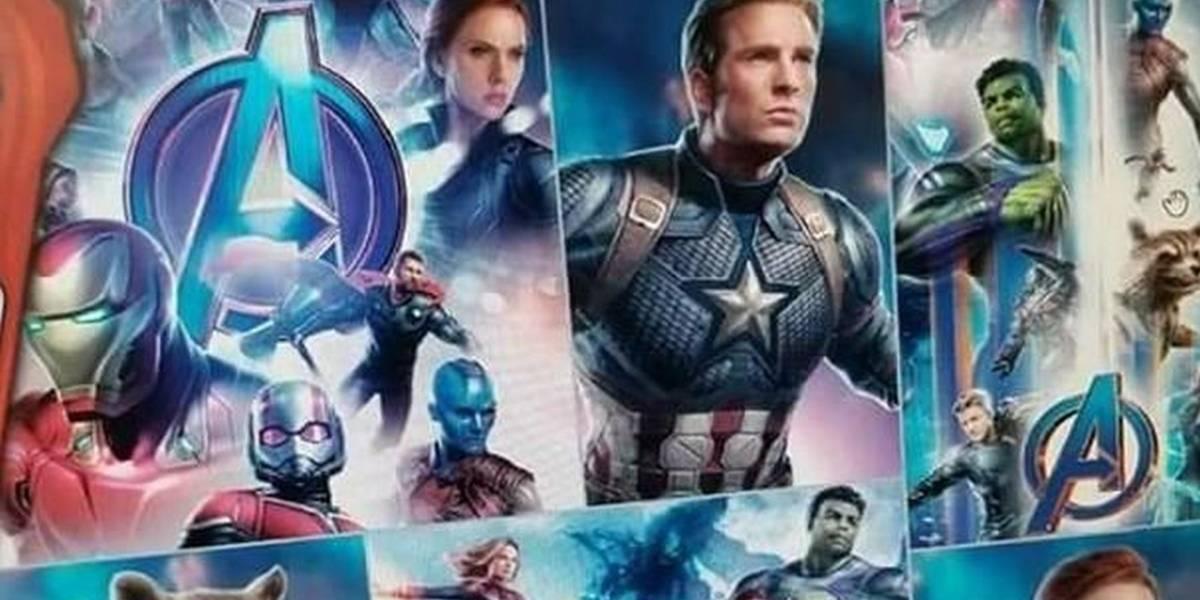 Capitán América, War Machine y Hulk roban atención en nuevo arte filtrado de Avengers 4