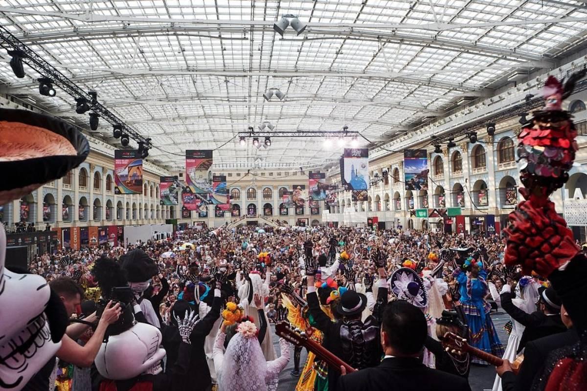 Moscú celebra tradición mexicana Publisport