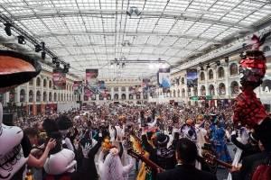 Moscú celebra tradición mexicana