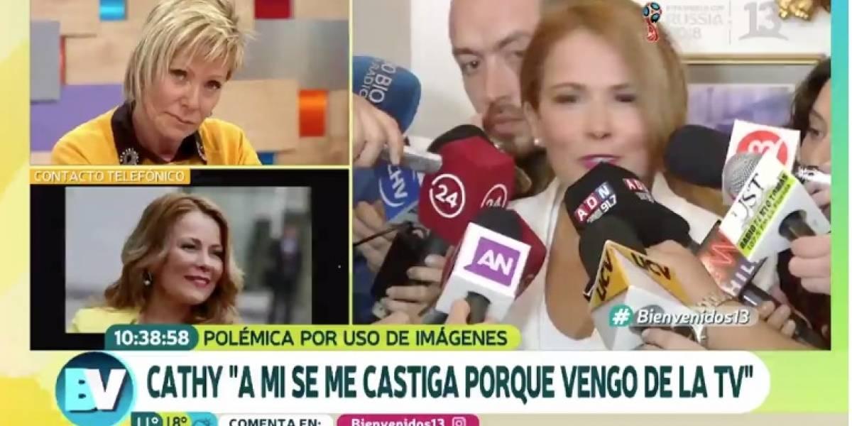 """""""Lo más estúpido que he escuchado"""": La molestia y la tensa discusión entre Cathy Barriga y Raquel Argandoña en """"Bienvenidos"""""""