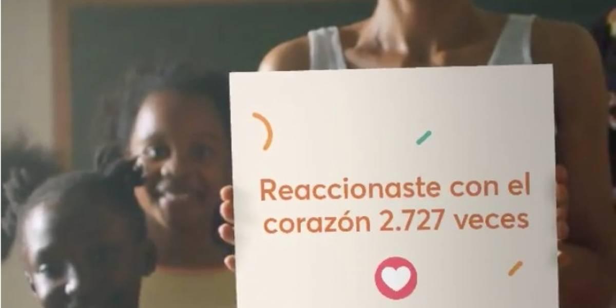 """¿Cómo obtener el video """"Juntos marcamos la diferencia"""" en Facebook?"""