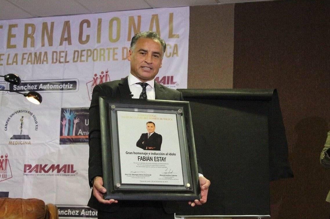 Fabián Estay, ídolo del Toluca en México, hoy se desempeña como comentarista en la cadena Fox Sports / Foto: Twitter