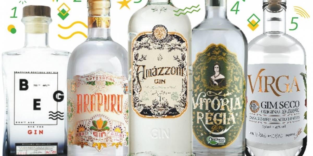 Com jeito de Brasil, Gim tem ganhado espaço no preparo de drinks