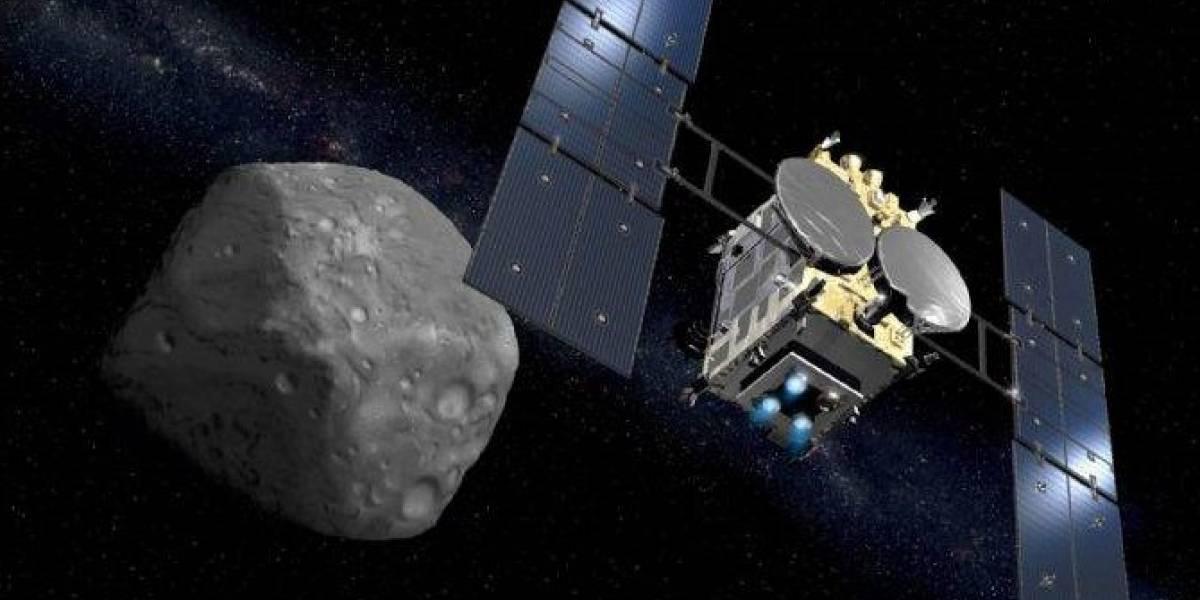¡Lo logró! Sonda japonesa por fin llegó al misterioso asteroide Ryugu