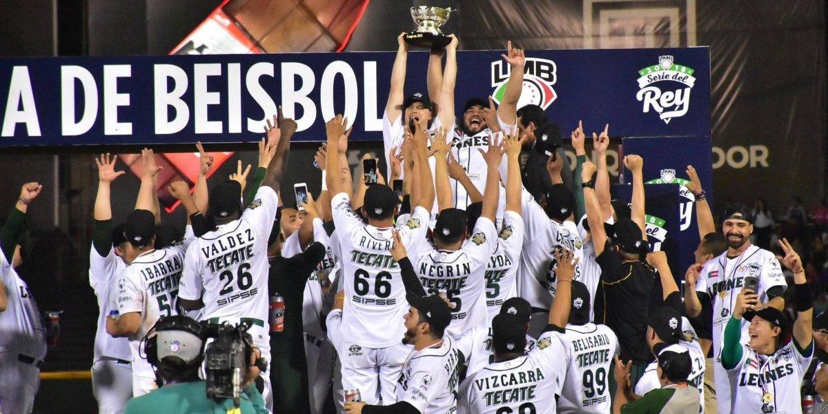 Leones de Yucatán, campeones de la Liga Mexicana de Béisbol