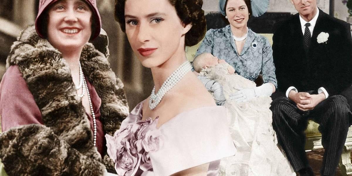 ¡Impresionante! Retocan fotos en blanco y negro de la Familia Real dándole vida a full color