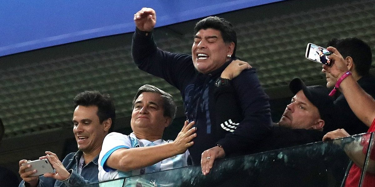 """Lothar Matthaus dijo lo que todos piensan: """"Ver a Maradona así es triste"""""""
