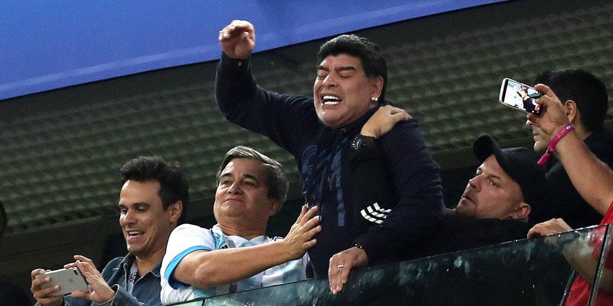 Me j… que no me incluyan: Maradona
