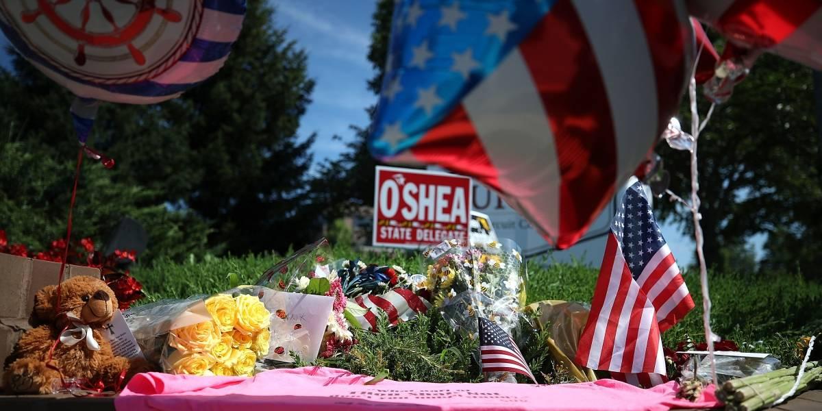 """""""Hoy estamos sin palabras"""" : El diario que sufrió un tiroteo en Maryland deja la página de opinión en blanco"""