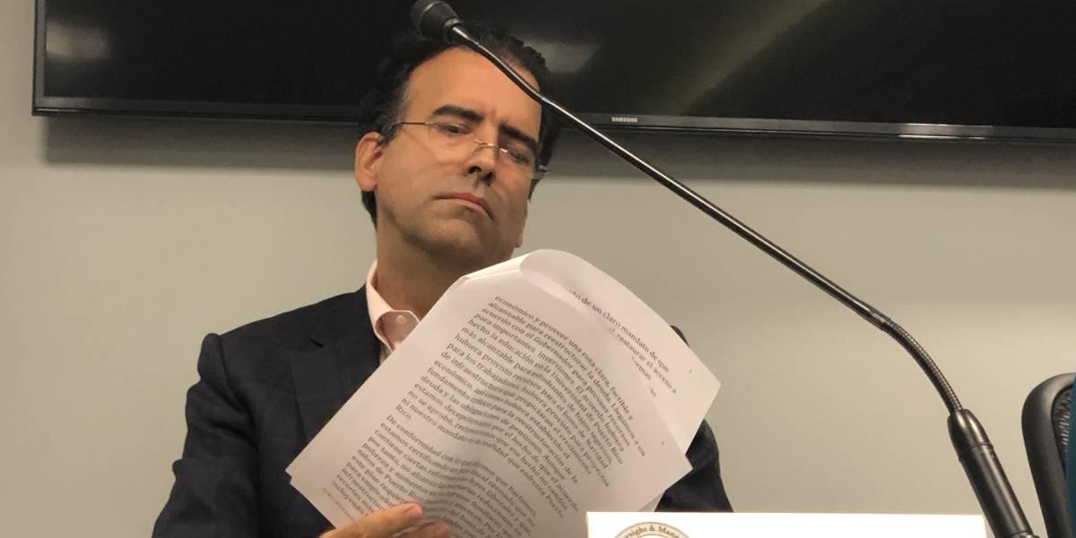 La Junta ahora revisará todos los contratos del Gobierno de sobre $10 millones
