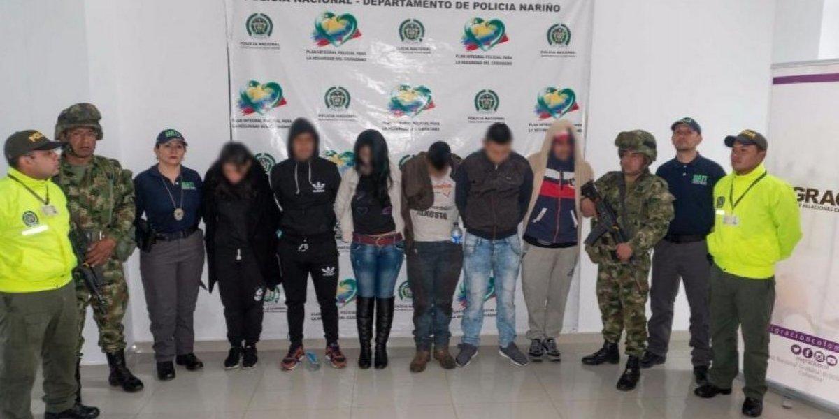 Así operaban 'Los Coyotes', la banda colombiana que traficaba migrantes asiáticos