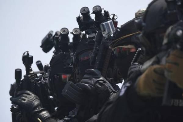 Militares surcoreanos en ejercicio conjunto EUA