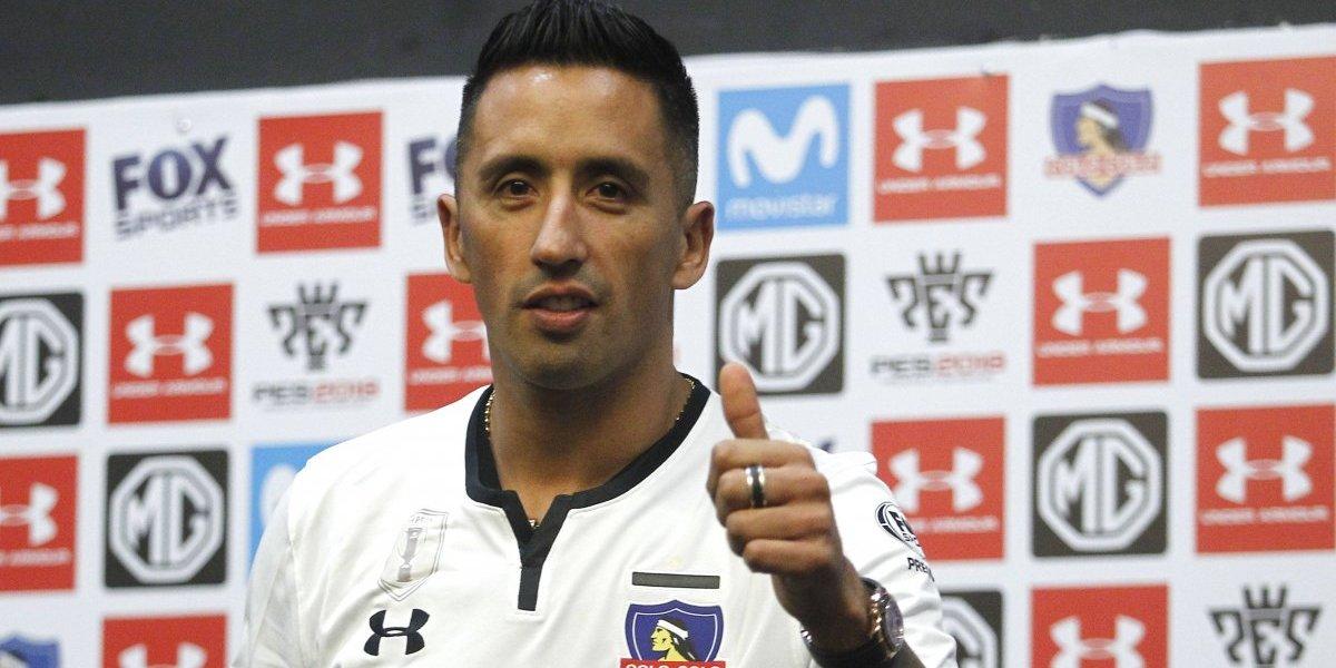 """Lucas Barrios tras su presentación en Colo Colo: """"No tengo problemas con Aníbal Mosa"""""""