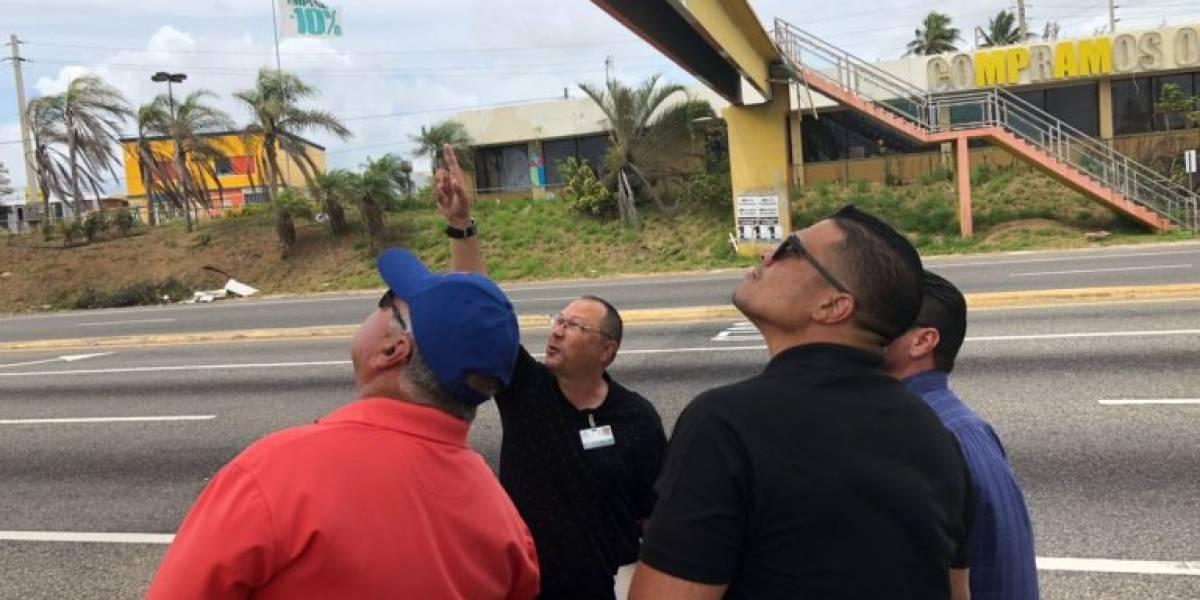 Demolerán puente peatonal de carretera en Arecibo