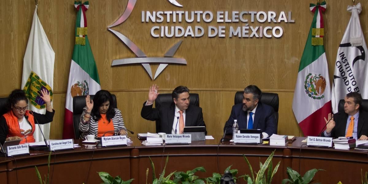 IECM rechaza solicitud para cambiar a candidata a jefa de Gobierno