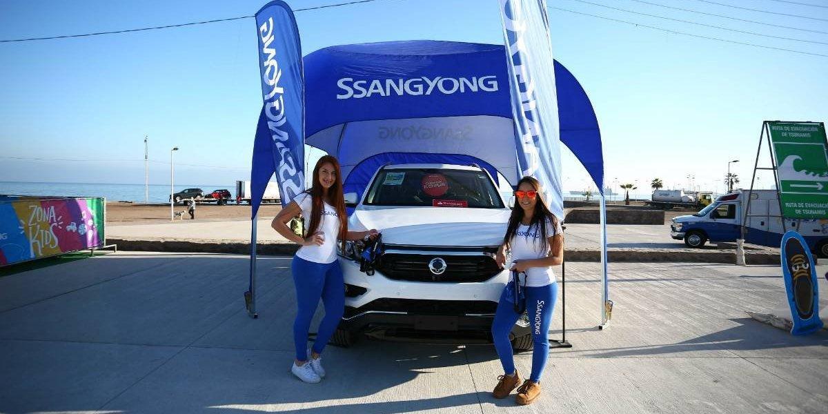 SsangYong se une a las Corridas Familiares de Caja Los Andes