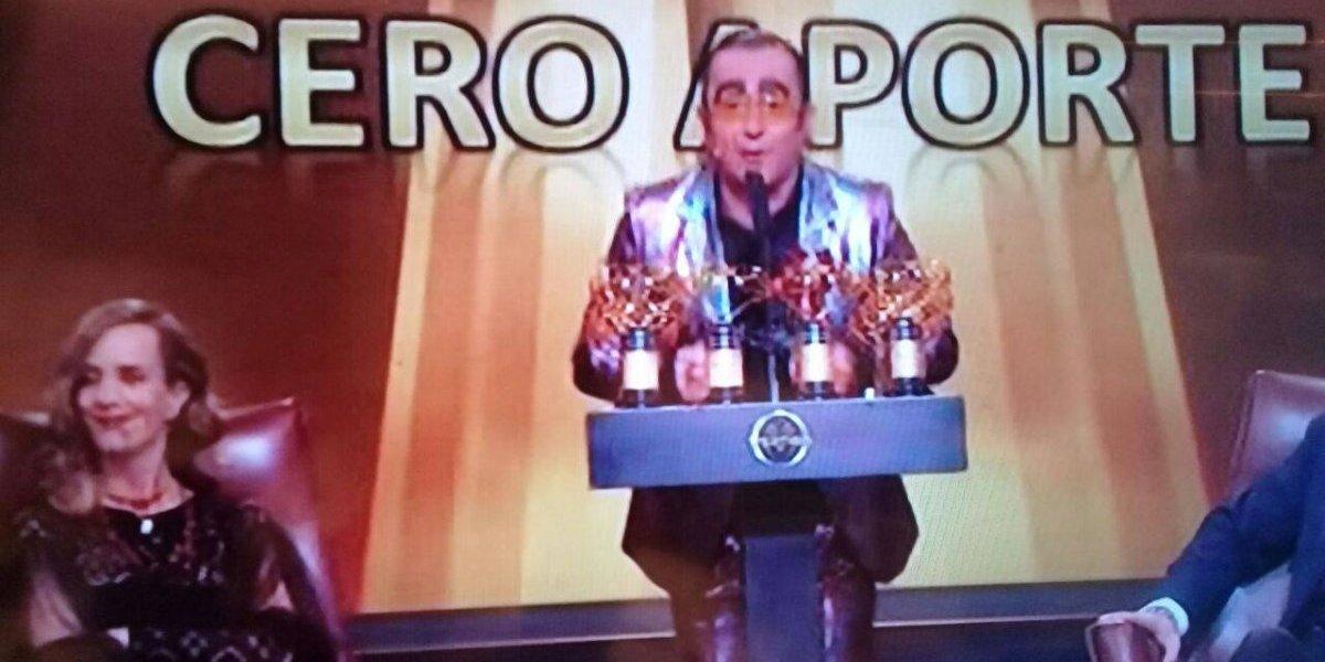 """Así fueron los premios y el cierre de temporada: Yerko Puchento fustigó a los matinales chilenos por su """"doble moral"""""""