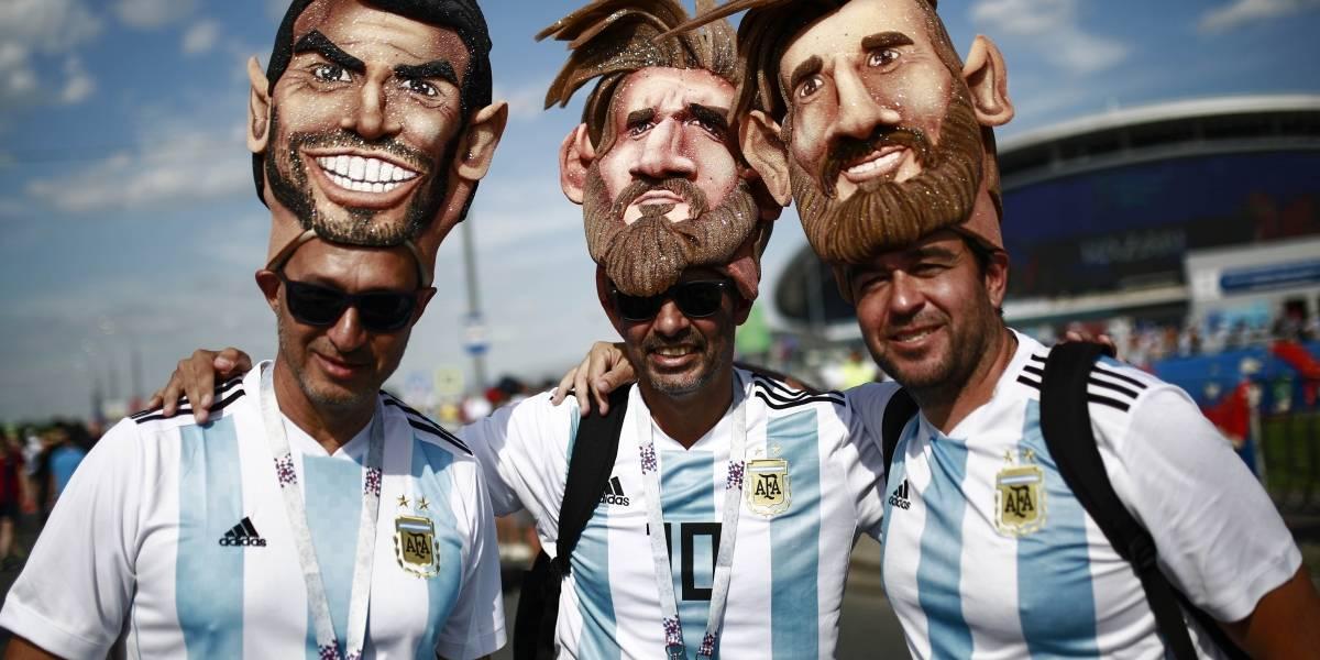 La afición de argentina revive y se entrega de lleno para apoyar a su selección
