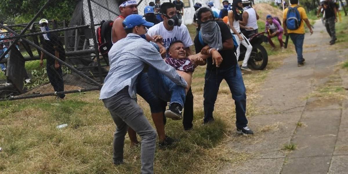 EN IMÁGENES. Caos, muerto y heridos en marcha en Nicaragua