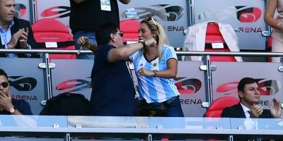 Maradona gol argentina frança