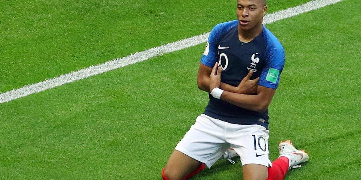 Mbappé valorizou 44% após a Copa e está colado em Neymar, diz estudo